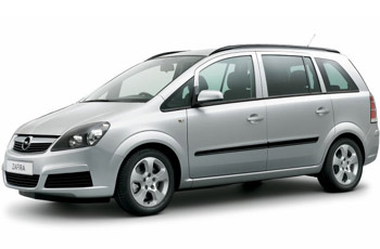Taxi: Opel Zafira for max. 6 passengers